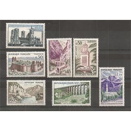 1235 à 1241 (1960) Série touristique N* (cote 12e) (1078)