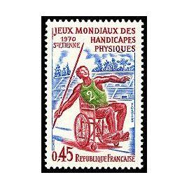 Jeux mondiaux des handicapés physiques Saint-Etienne