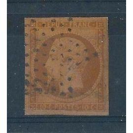 FRANCE - Timbres Classiques Oblitérés Napoléon N°9 - 10c Bistre-Jaune - Cote 700 euros