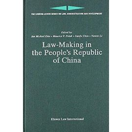 Law Making in the People's Republic of China - Collectif