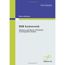 BGB Sachenrecht: Eigentum und Besitz, Pfandrecht an beweglichen Sachen - Markus Bergauer
