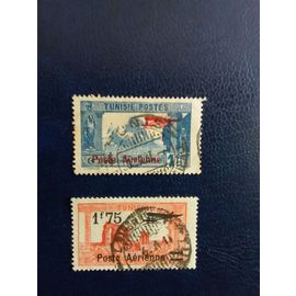 timbres de Tunisie poste aérienne n° 3 4