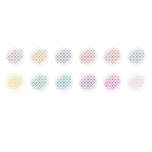 Acrylique Plain Round Drop Beads 30 x 10 mm Violet Foncé 10 Pcs nacré ART HOBBY