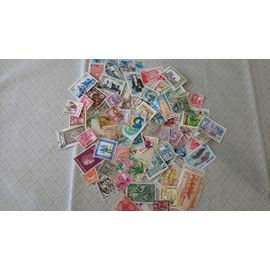 TUNISIE LOT DE 200 TIMBRES DIFFERENTS