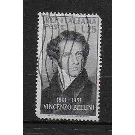 ITALIE 1960 : Musicien compositeur Vincenzo Bellini - Timbre oblitéré