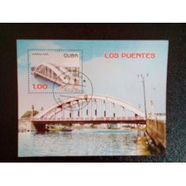 timbre CUBA M I BL 197 ponts 2005 ( 14812 )