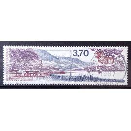 Les Côtes de Meuse 3,70 (Joli n° 2466) Obl - France Année 1987 - N25612