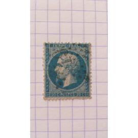 Lot n°109 ■ timbre oblitéré france classique n ° 22 ---- 20c bleu