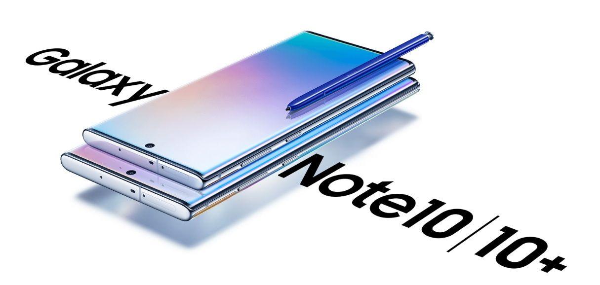 Samsung Galaxy Note10+ 256 Go Double SIM Aura glow image 1 | Rakuten
