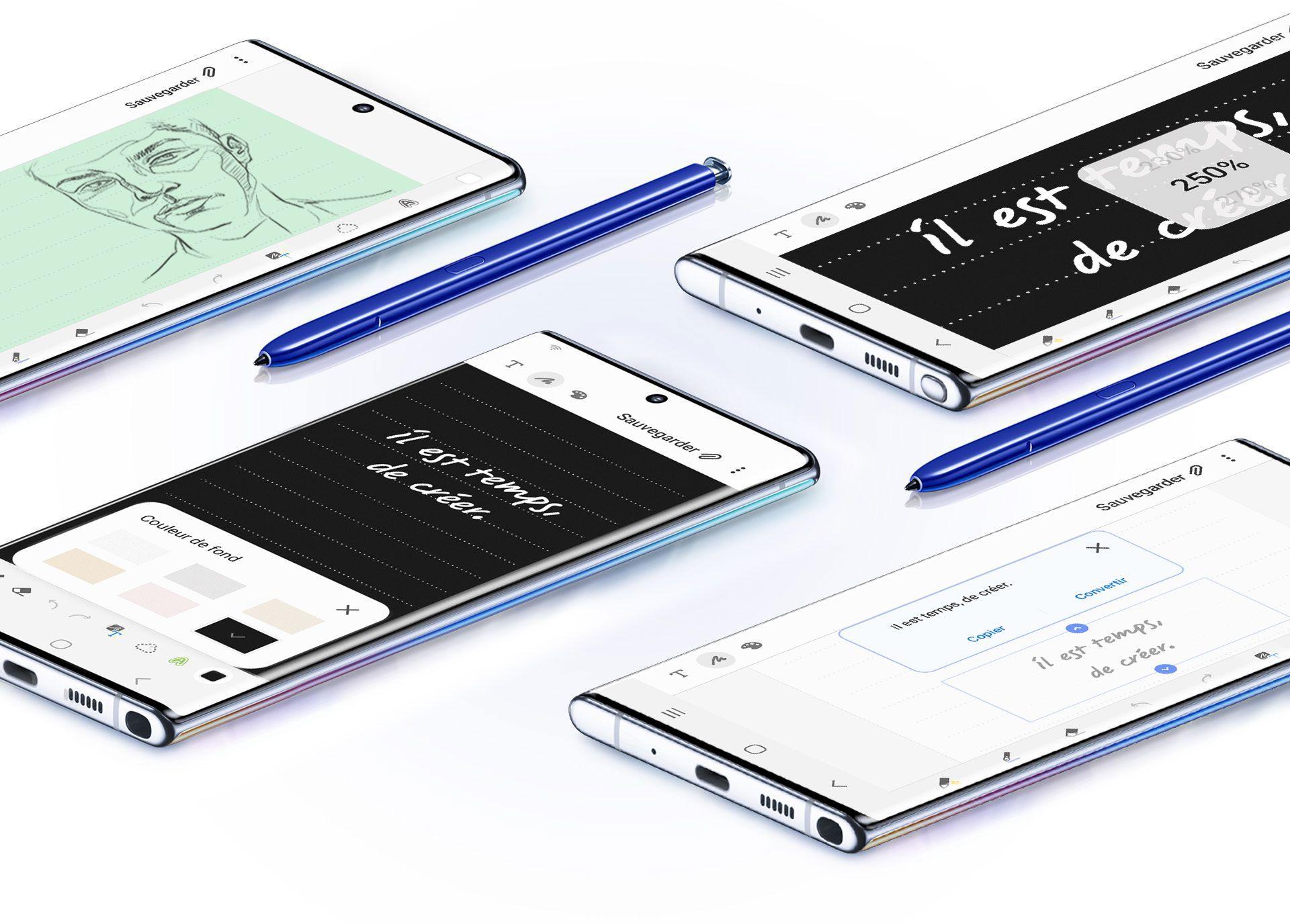 Samsung Galaxy Note10+ 256 Go Double SIM Aura glow image 9 | Rakuten