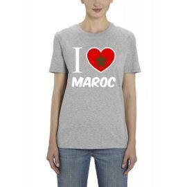 t-shirt femme maroc
