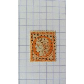 Lot n139■ timbre oblitéré france classique n ° 38 ---- 40c orange