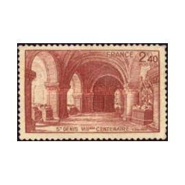 Timbres France Basilique de Saint-Denis---Bataille d