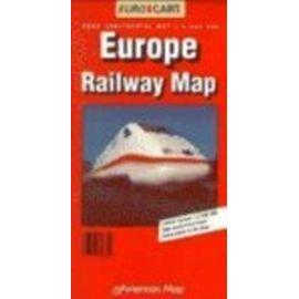 Europe Railway Map: Euro-Continental Map (Euro Map) - Falk-Verlag