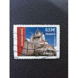 provins patrimoine mondial timbre france tp7