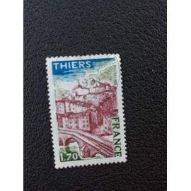 thiers ville timbre france tp7