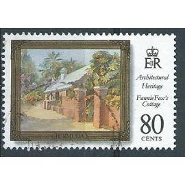 Timbre Bermudes Patrimoine Architectural 1996 n° Michel 717