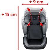 Réhausseur Siège de voiture EOS BOO noir//anthracite ECE r44//04 15-36 kg