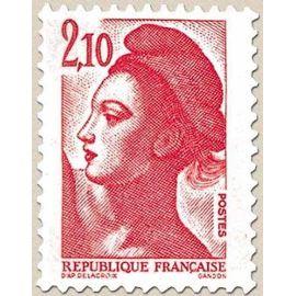France 1984 N° 2319, Liberté 2.1 rouge, Neuf