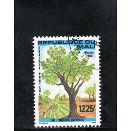 Timbre-poste aérienne du Mali (Essence arboricole protégée)