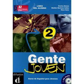 Gente Joven 2 - Curso De Espanol Para Jovenes (1 Cd Audio) - Alonso Encina