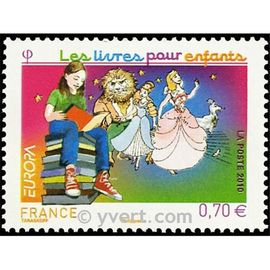 europa : les livres pour enfants année 2010 n° 4445 yvert et tellier luxe