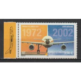 france, 2002, poste aérienne, 30è anniversaire du premier vol de l