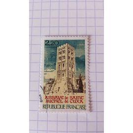 Lot n°183 ■ timbre oblitéré france n ° 2351 ---- 2f20 beige, brun, bleu et rouge