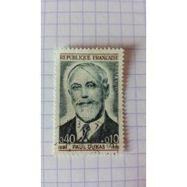 Lot n°185 ■ timbre oblitéré france n ° 1444 ---- 40c + 10c gris-bleu et brun-lilas