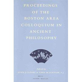 Proceedings of the Boston Area Colloquium in Ancient Philosophy: Volume XVI (2000) - John J. Cleary
