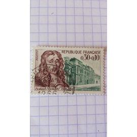 Lot n°197 ■ timbre oblitéré france n ° 1471 ---- 30c +10c vert et violet-brun