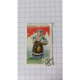 Lot n°200 ■ timbre oblitéré france n ° 2979 ---- 2f80 +60c multicolore
