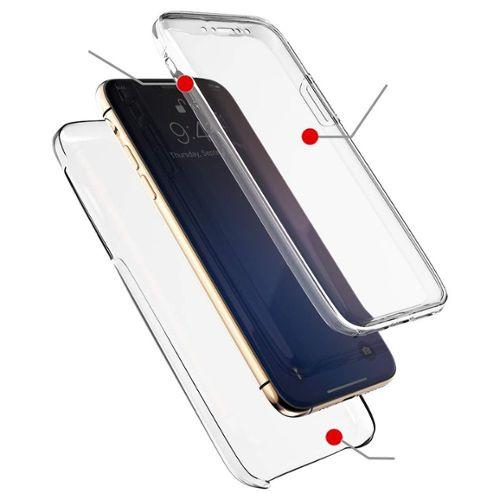 Coque 360 iphone 11de qualité MilitaireCoque de Protection Intégrale Antichoc avec Protecteur d'écran Intégré pour iphone 11 6.1''