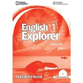English Explorer Book 1 : Teacher's Edition with Classroom Audio CD - Hill, David A