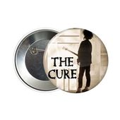 Patch Groupe New Wave The Cure Noir Rouge 10x4.5cm ecusson thermocollant hotrodspirit