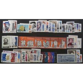 russie oblitéré y et t n° 2363 et plus lot de 61 timbres de 1963