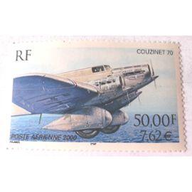 Timbres neufs France - Couzinet 70 - 50 F - 7.62 € - Poste Aérienne 2000