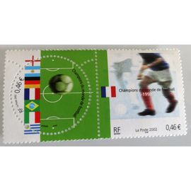 Timbre neuf - France - Champion du Monde Football 1998 - 0.46 €