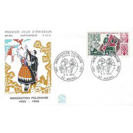 France 1973, Belle Enveloppe 1er Jour Commémoration De La Vague D