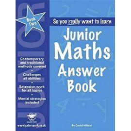 Junior Maths: Answer Book Book 2 - David Hilliard