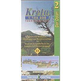 Kreta Touristikkarten Osten und Westen. 1:100000 / Kreta (Osten)
