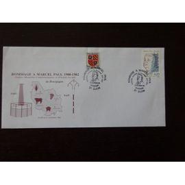 Timbres France 1992 Enveloppe Souvenir Hommage à Marcel Paul
