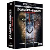 La Planète Des Singes - Intégrale - 3 Films - 4k Ultra Hd + Blu-Ray + Digital Hd