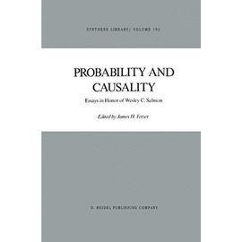 Probability and Causality - J. H. Fetzer