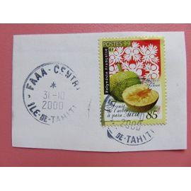 Timbre Polynésie YT 588 - Fruit de l