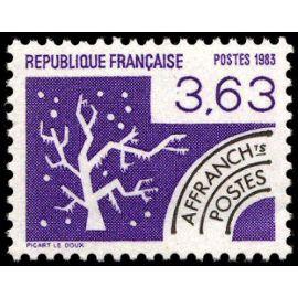 france 1983, très bel exemplaire neuf** luxe timbre préoblitéré yvert 181, l