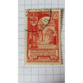 Lot n°261 ■ timbre oblitéré france n ° 926---- 15f vermillon