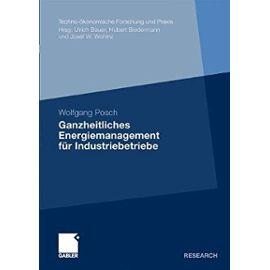 Ganzheitliches Energiemanagement für Industriebetriebe - Wolfgang Posch