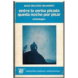 Entre la yerba pisada queda noche por pisar: Antologia (Coleccion Autores extremenos) (Spanish Edition) - Unknown