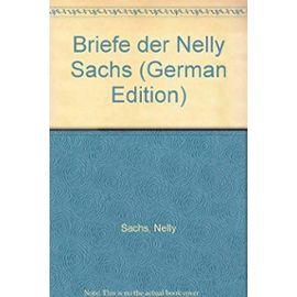 Briefe der Nelly Sachs (German Edition) - Nelly Sachs